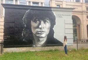 граффити Цоя на Восстания
