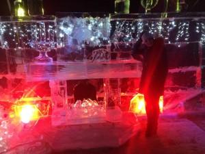 Ледяная сказка СПб камин