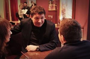 эксклюзивное индивидуальное интервью с героем картины, актером Яном Цапником фильм призрак