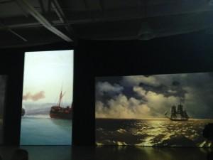 Выставка Айвазовский и маринисты - Живые полотна Санкт-Петербург 2015