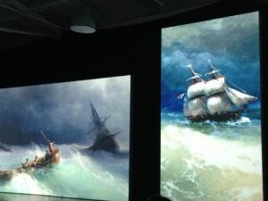 Выставка Айвазовский и маринисты Санкт-Петербург картины