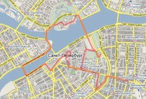 Петербург за один день бесплатно