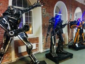 Бал роботов в Петербурге