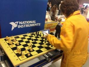 бал роботов шахматы