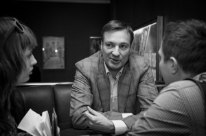 Санаев интервью Санкт-Петербург