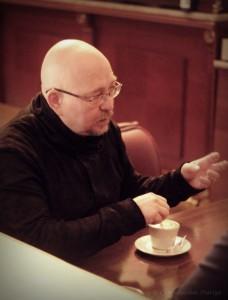 интервью с Александром Войтинским Санкт-Петербург премьера Призрак 2015 СПб