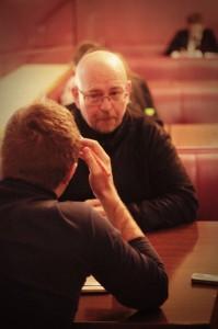 интервью с Александром Войтинским Санкт-Петербург премьера фильма Призрак