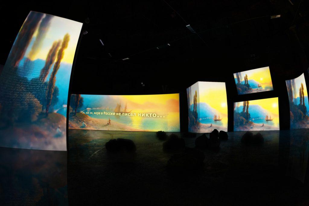 Айвазовский - Ожившие полотна