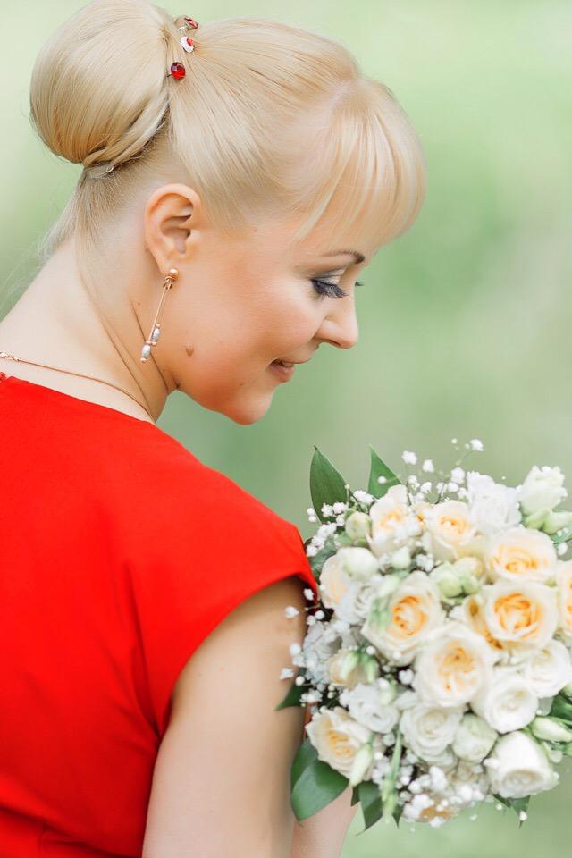 Свадебный макияж - визажист в Петербурге