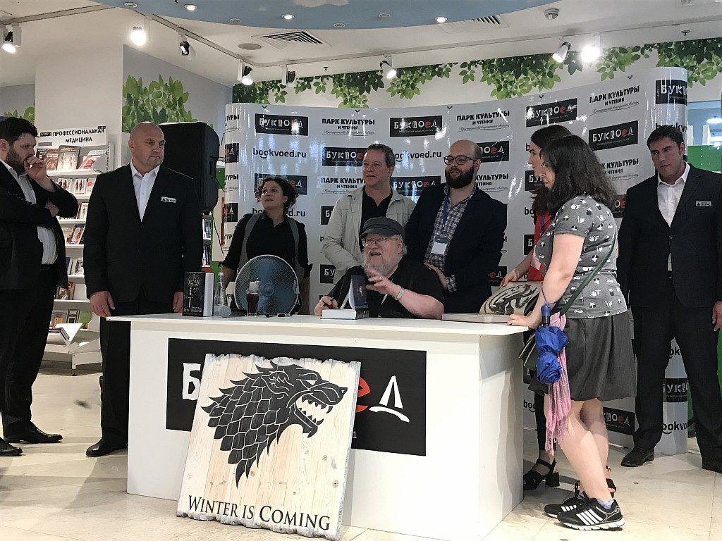 Джордж Мартин в Санкт-Петербурге: фото и видео мероприятия