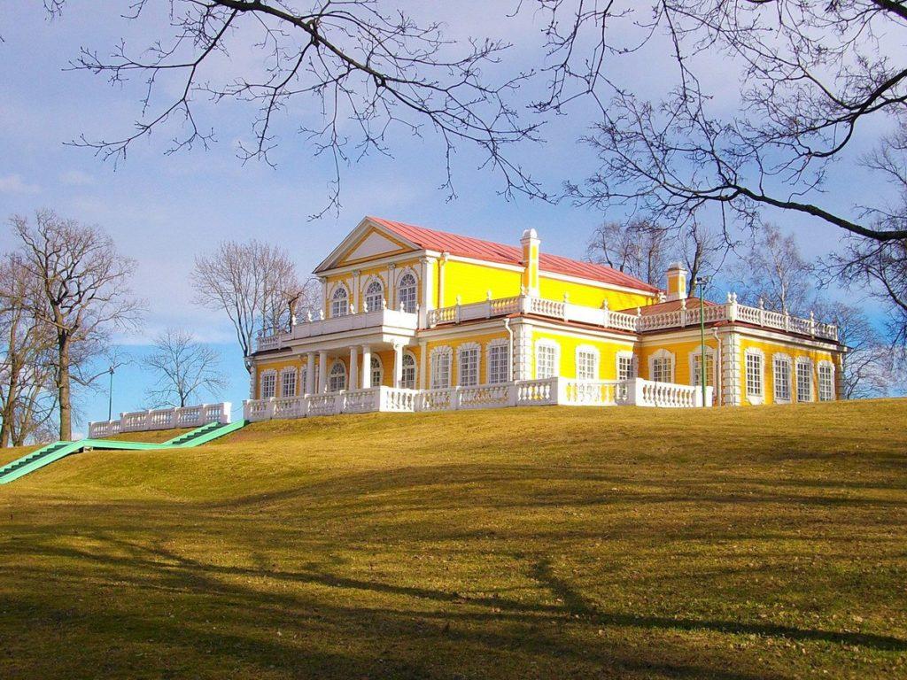 Путевой дворец Петра I в Стрельне