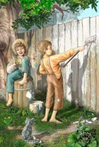 Мюзикл для детей «Том Сойер»