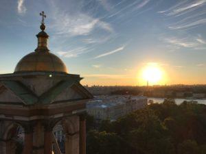 Вечерняя колоннада Исаакиевского собора открыта для посещения