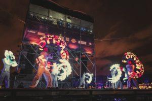 Фестиваль огня — Рождественская звезда 2020