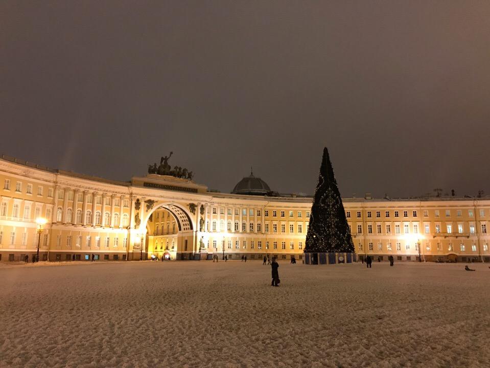 Новый год 2020 в Петербурге