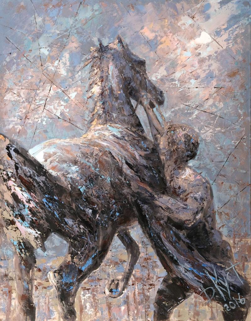 Выставка живописи в Галерее Кустановича