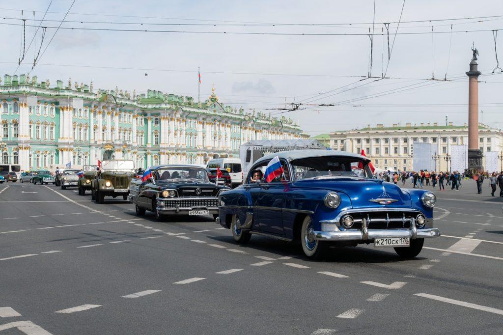 Фестиваль ретроавтомобилей SPbTransportFest