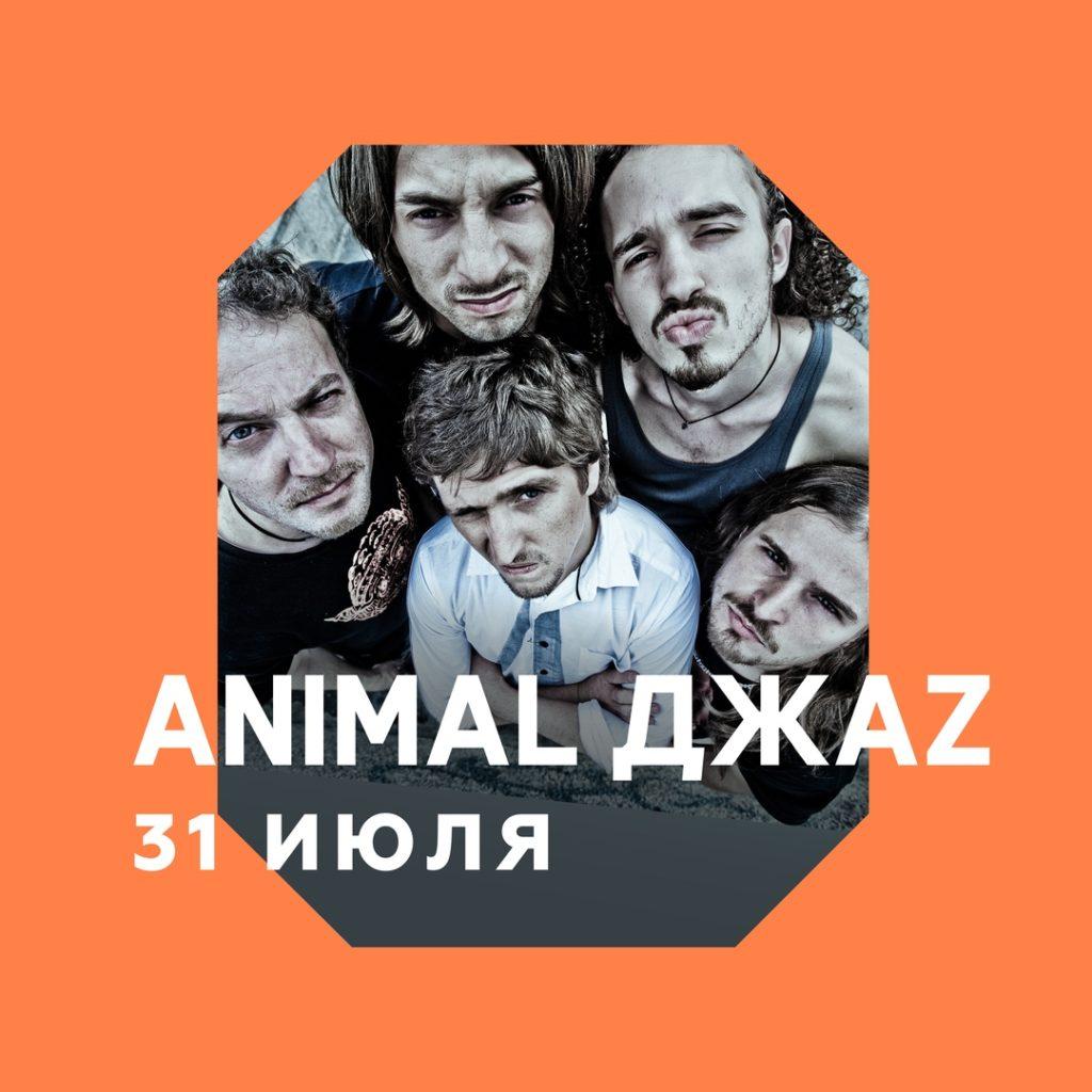 Animal Джаz / Концерт на крыше