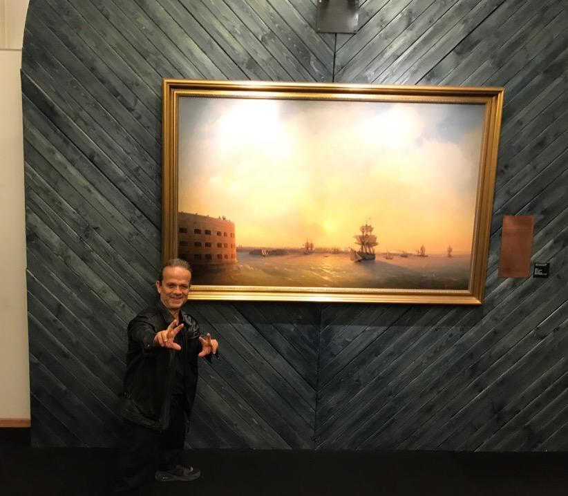 Выставка картинАйвазовского в Кронштадте - бесплатно!