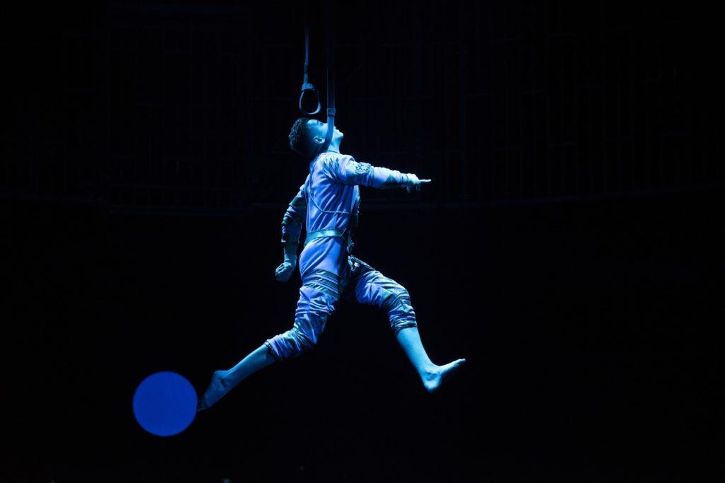 Премьера шоу фонтанов «Принц цирка»