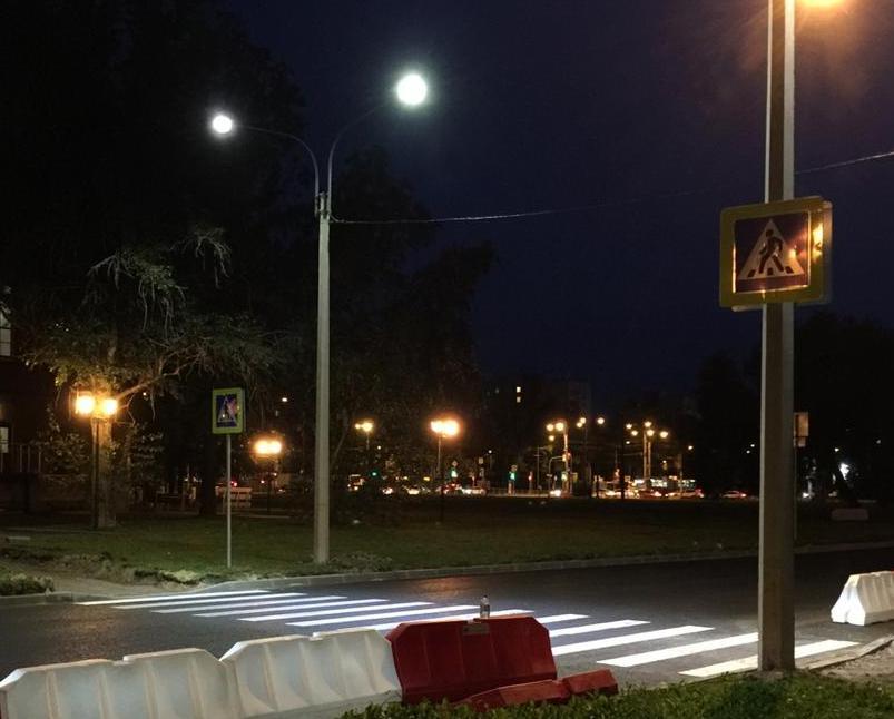 Новый «умный» пешеходный переход в Петербурге