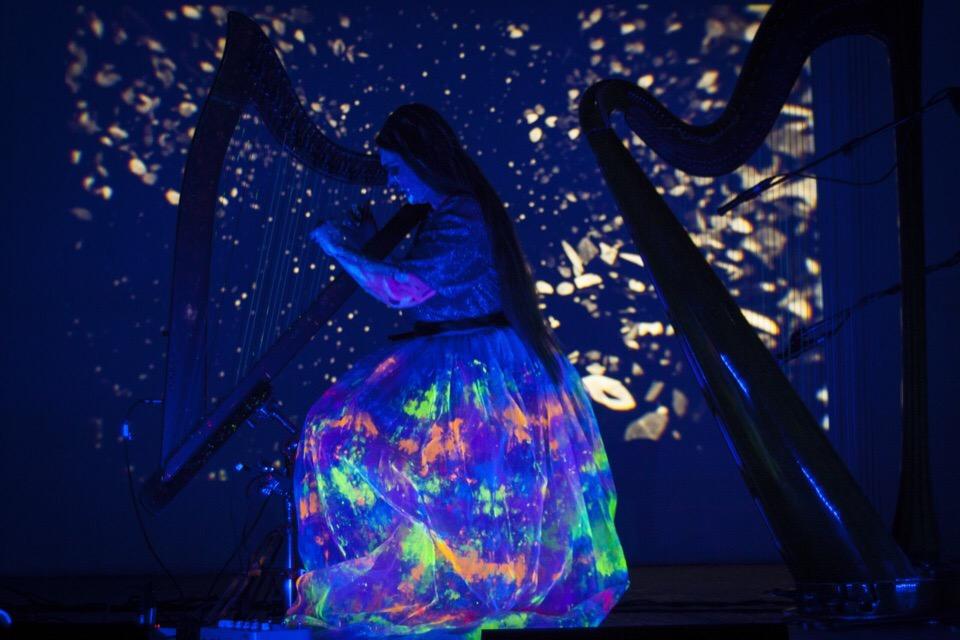 Иммерсивный концерт в планетарии: Арфа в темноте