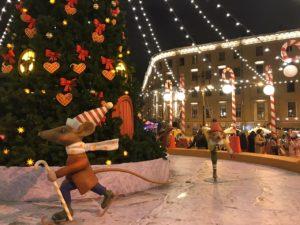 Рождественская ярмарка на Манежной площади