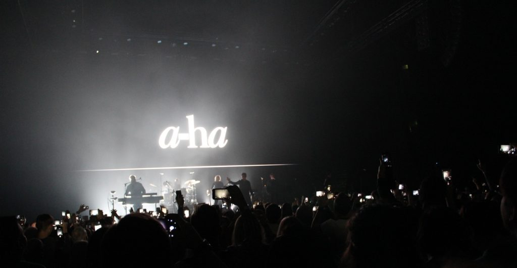 Легендарная группа A-ha выступила в Петербурге