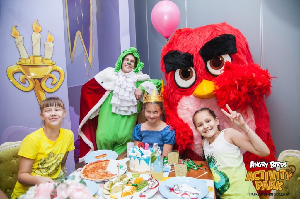 Angry Birds Activity Park: семейный парк развлечений и аттракционов