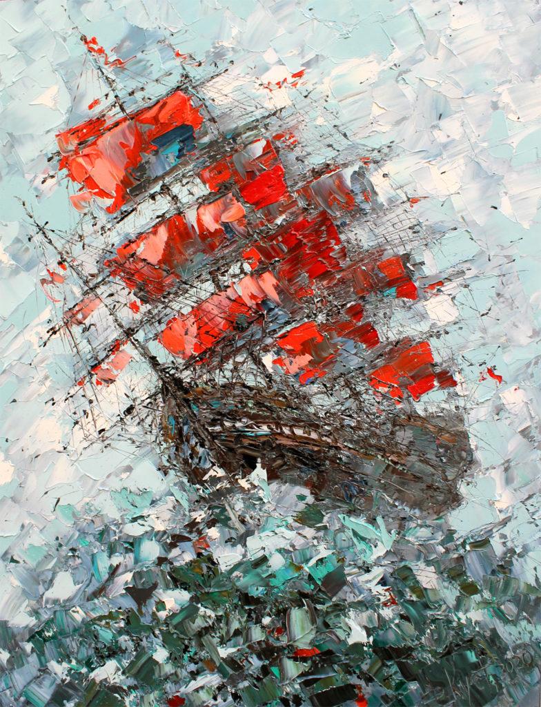 выставка Кустановича