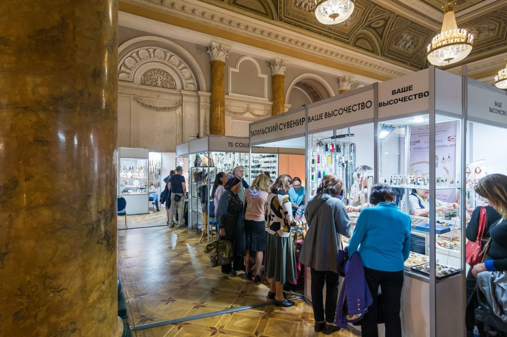 Ювелирная выставка «Сокровища Петербурга»: 5-летний юбилей во дворце!