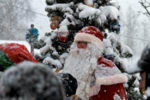 Дед Мороз в усадьбе Богословка