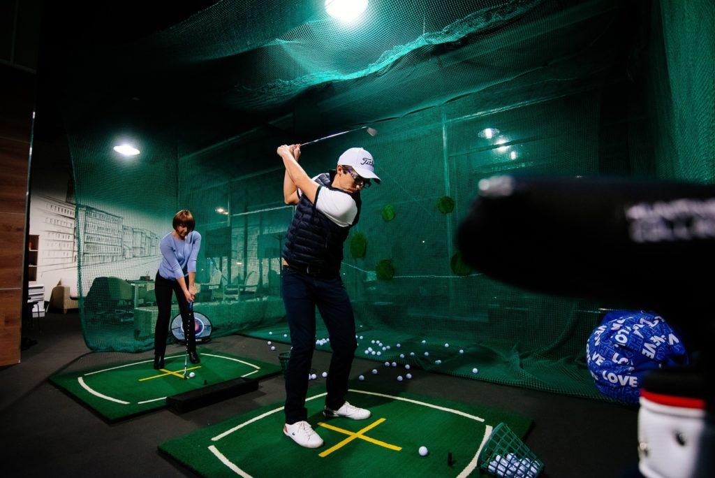 Бесплатные уроки по гольфу на Рождество