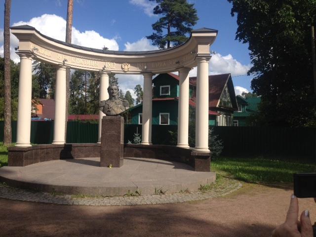 В усадьбе героя войны 1812 года Витгенштейна